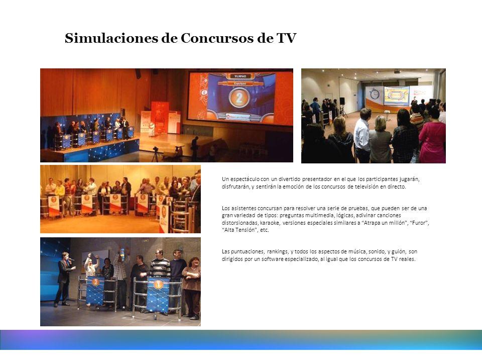 Simulaciones de Concursos de TV