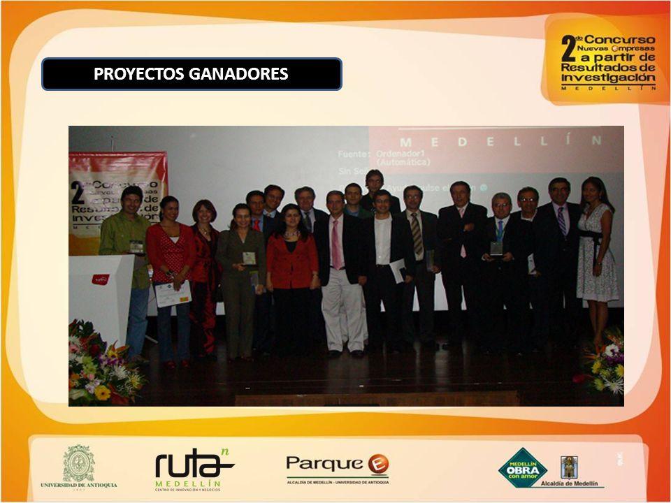 PROYECTOS GANADORES