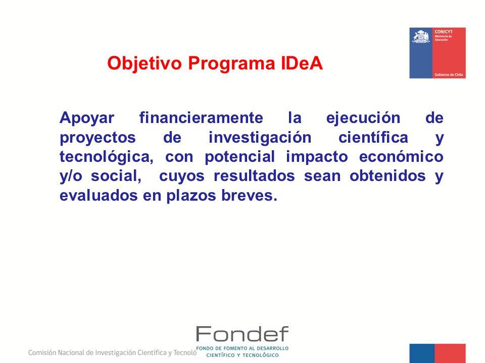 Objetivo Programa IDeA