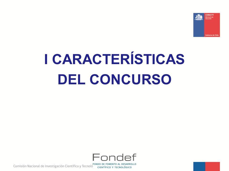 I CARACTERÍSTICAS DEL CONCURSO