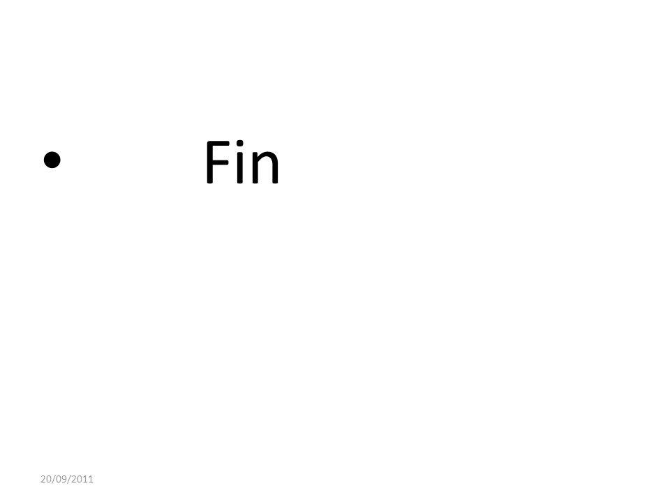 Fin 20/09/2011