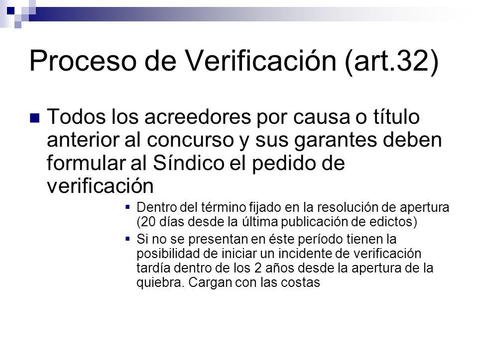 Proceso de Verificación (art.32)