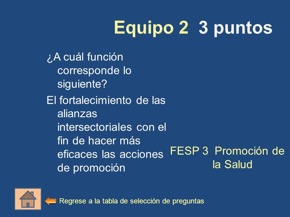 FESP 3 Promoción de la Salud