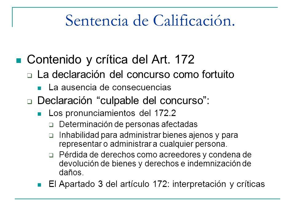 Sentencia de Calificación.