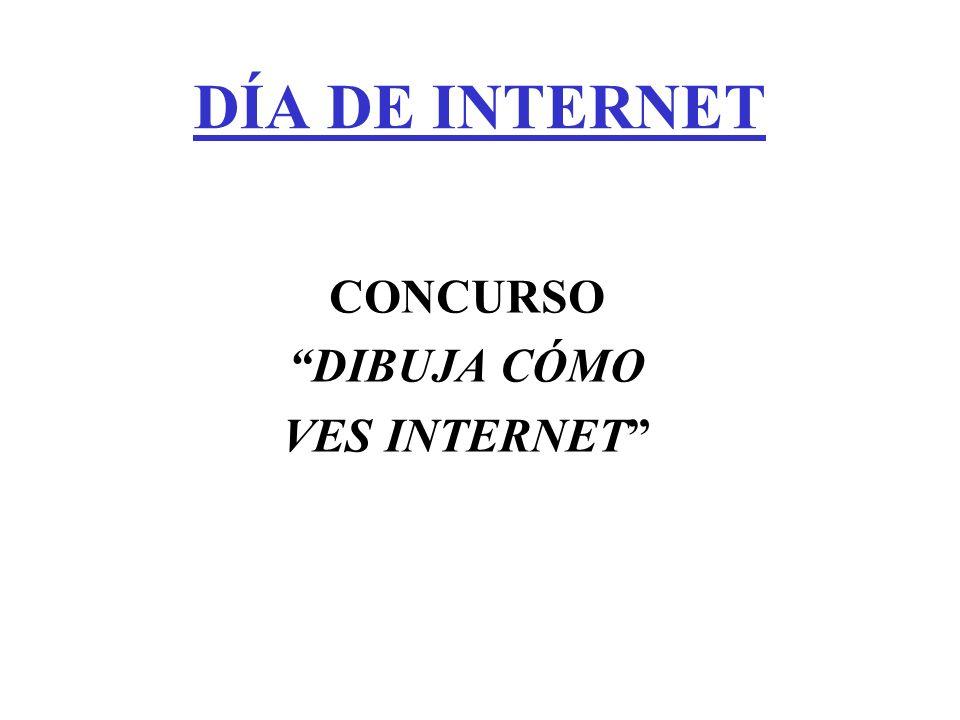 CONCURSO DIBUJA CÓMO VES INTERNET