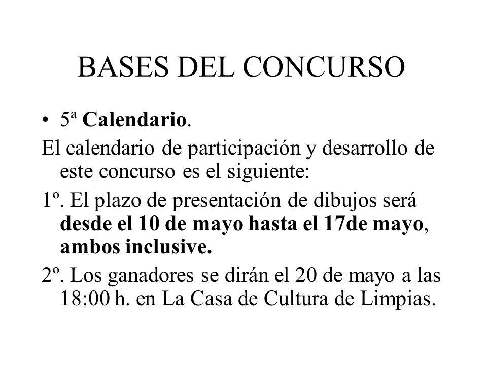 BASES DEL CONCURSO 5ª Calendario.