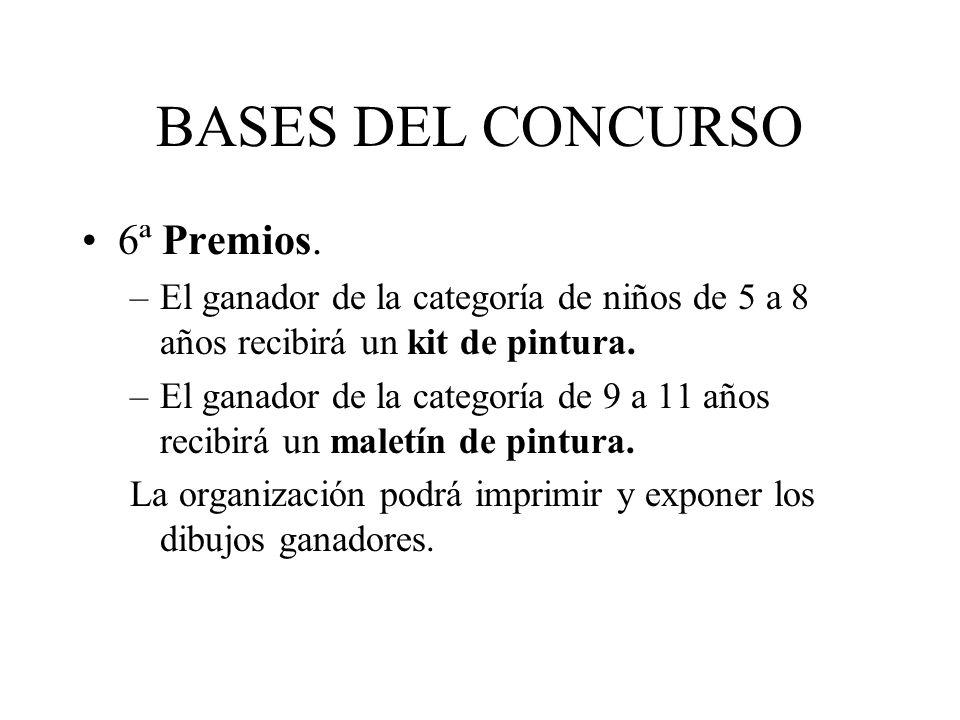 BASES DEL CONCURSO 6ª Premios.