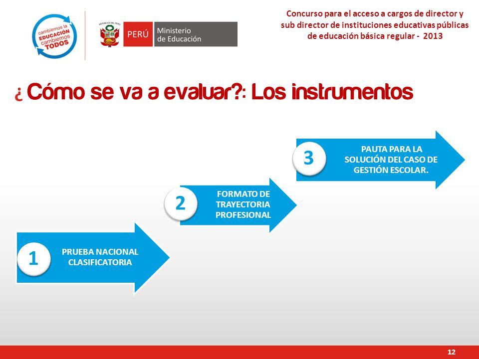 PRUEBA NACIONAL CLASIFICATORIA FORMATO DE TRAYECTORIA PROFESIONAL