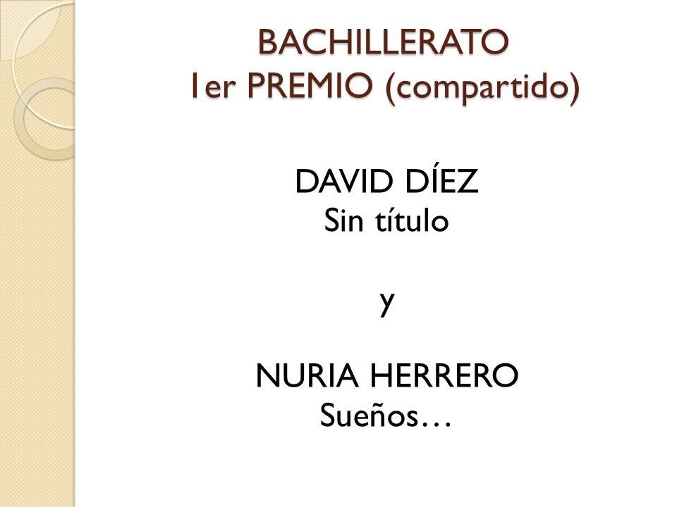 BACHILLERATO 1er PREMIO (compartido)