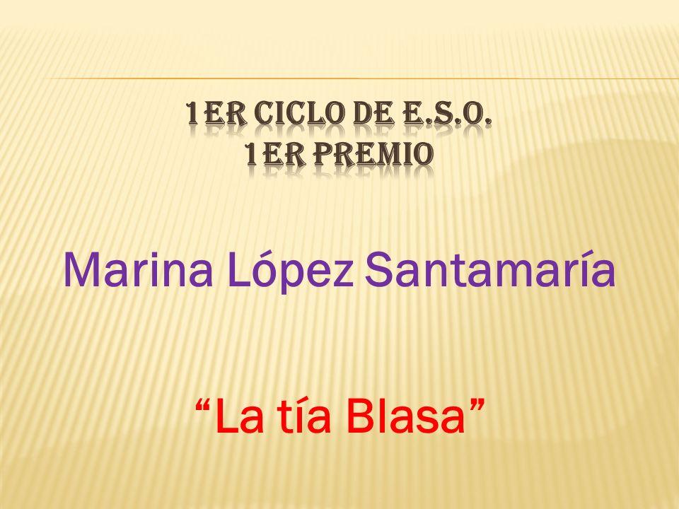 1er CICLO DE E.S.O. 1er PREMIO