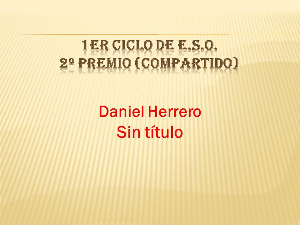 1er CICLO DE E.S.O. 2º PREMIO (compartido)