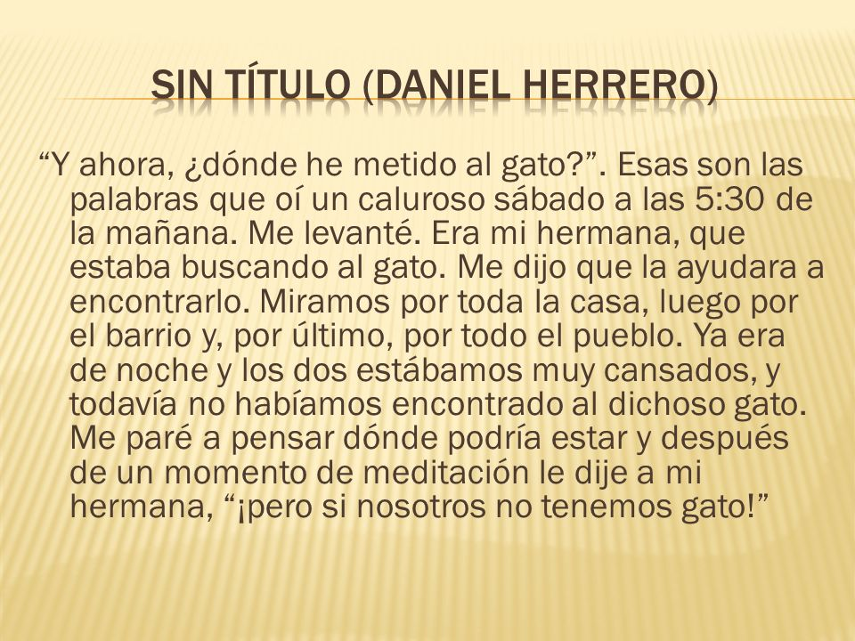 SIN TÍTULO (Daniel Herrero)