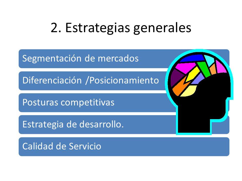 2. Estrategias generales