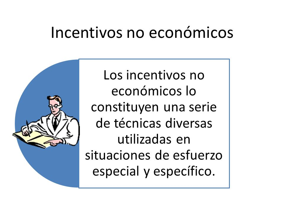 Incentivos no económicos
