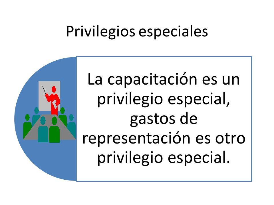Privilegios especiales