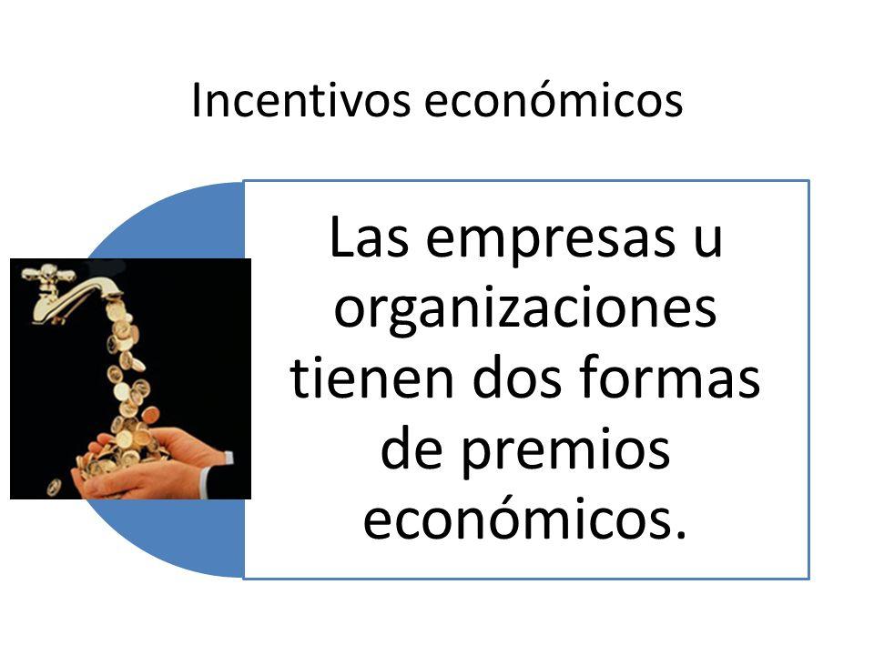 Incentivos económicos