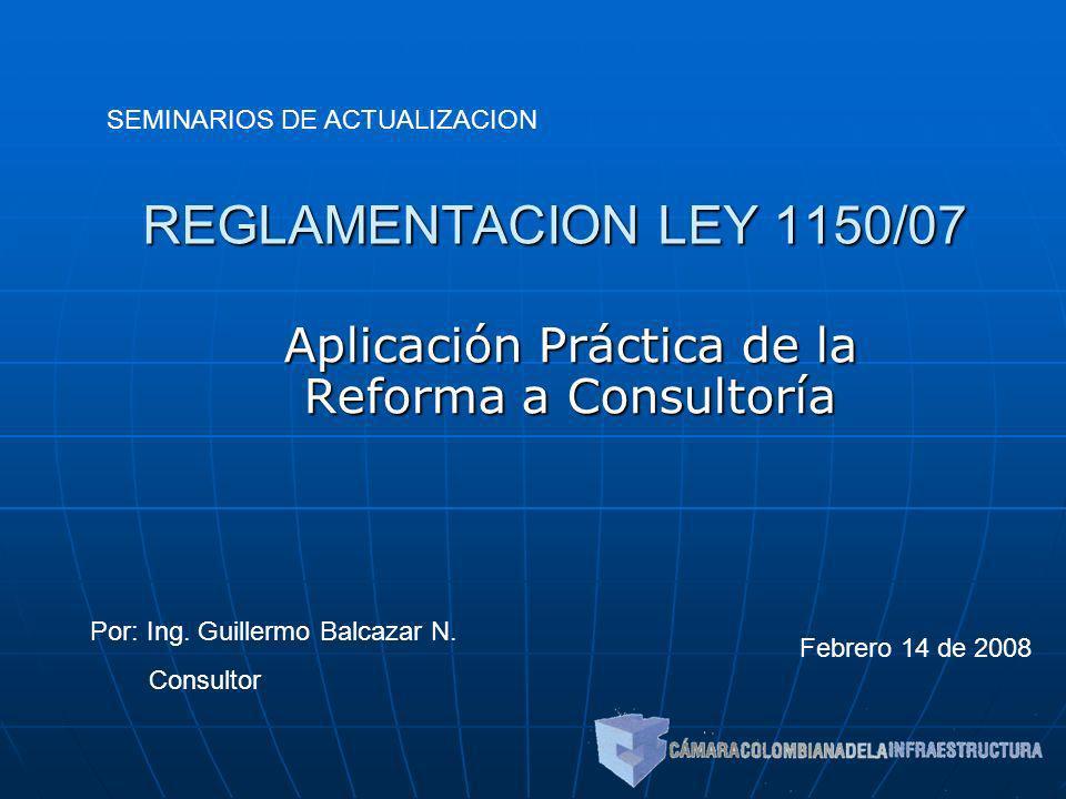 Aplicación Práctica de la Reforma a Consultoría