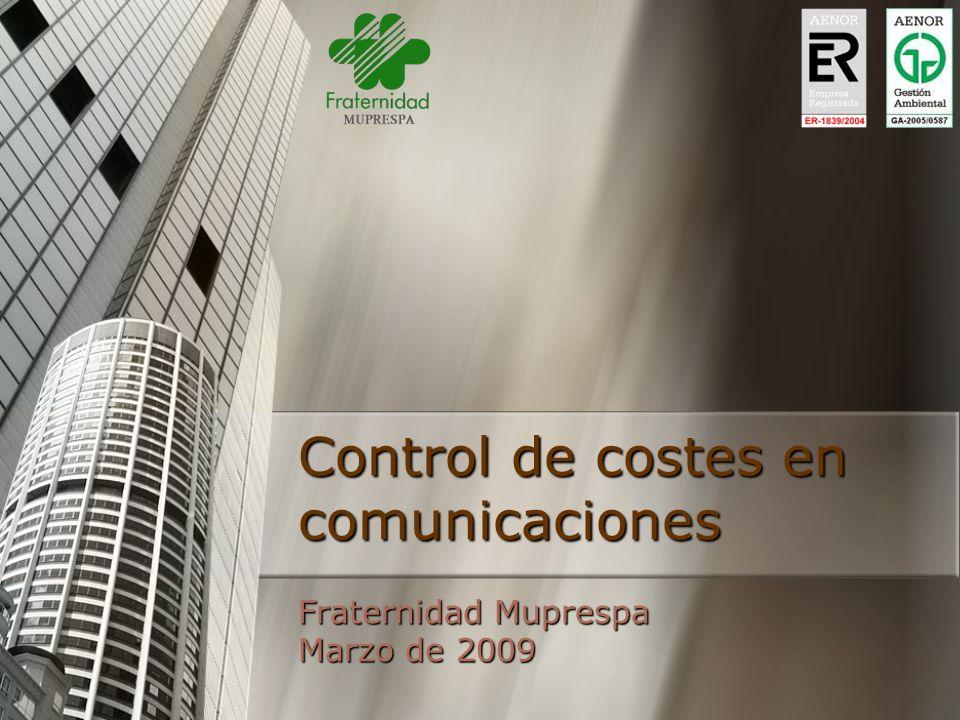 Control de costes en comunicaciones