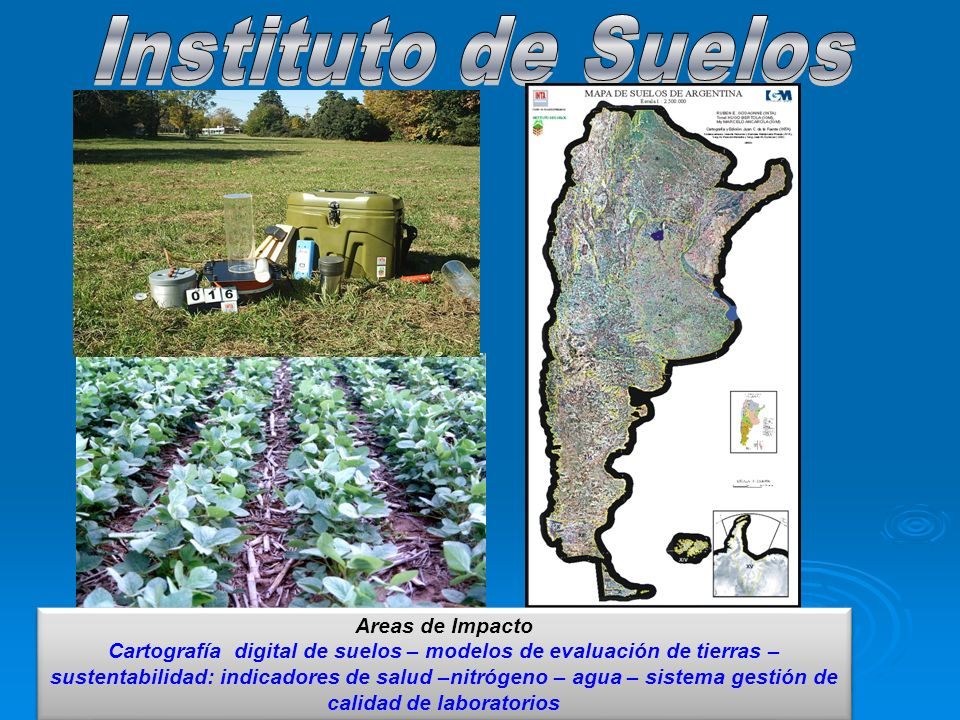 Instituto de Suelos Areas de Impacto