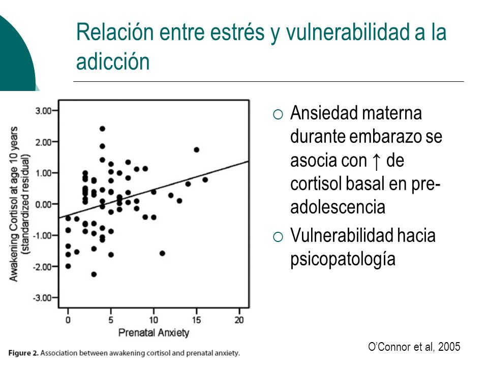 Relación entre estrés y vulnerabilidad a la adicción