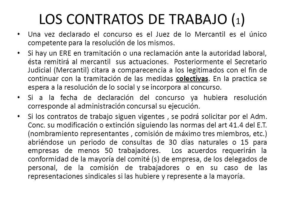 LOS CONTRATOS DE TRABAJO (1)