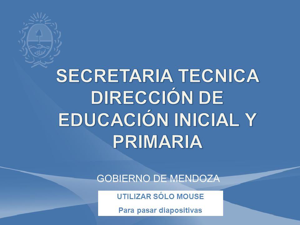 SECRETARIA TECNICA DIRECCIÓN DE EDUCACIÓN INICIAL Y PRIMARIA