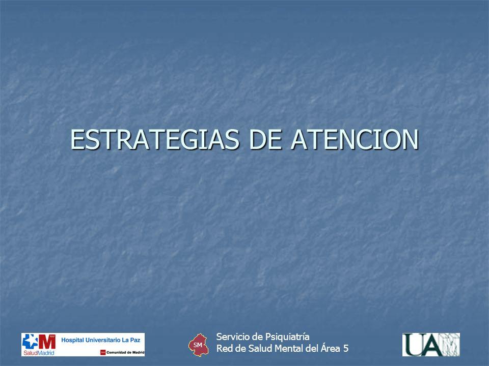 ESTRATEGIAS DE ATENCION