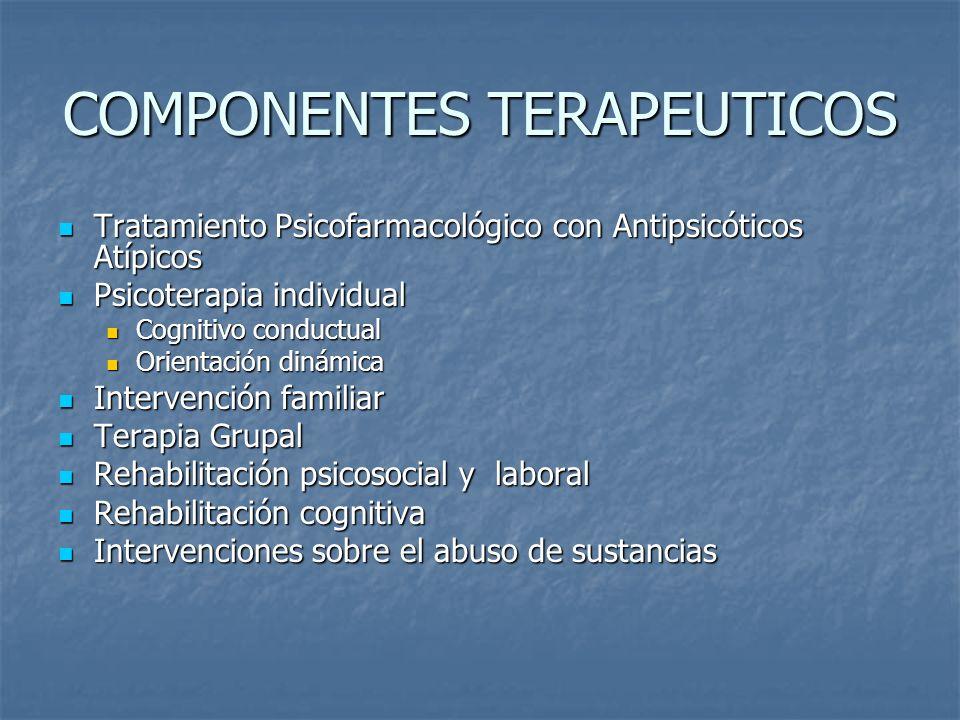 COMPONENTES TERAPEUTICOS