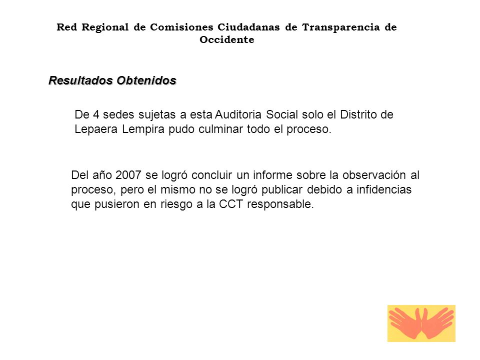 Red Regional de Comisiones Ciudadanas de Transparencia de Occidente