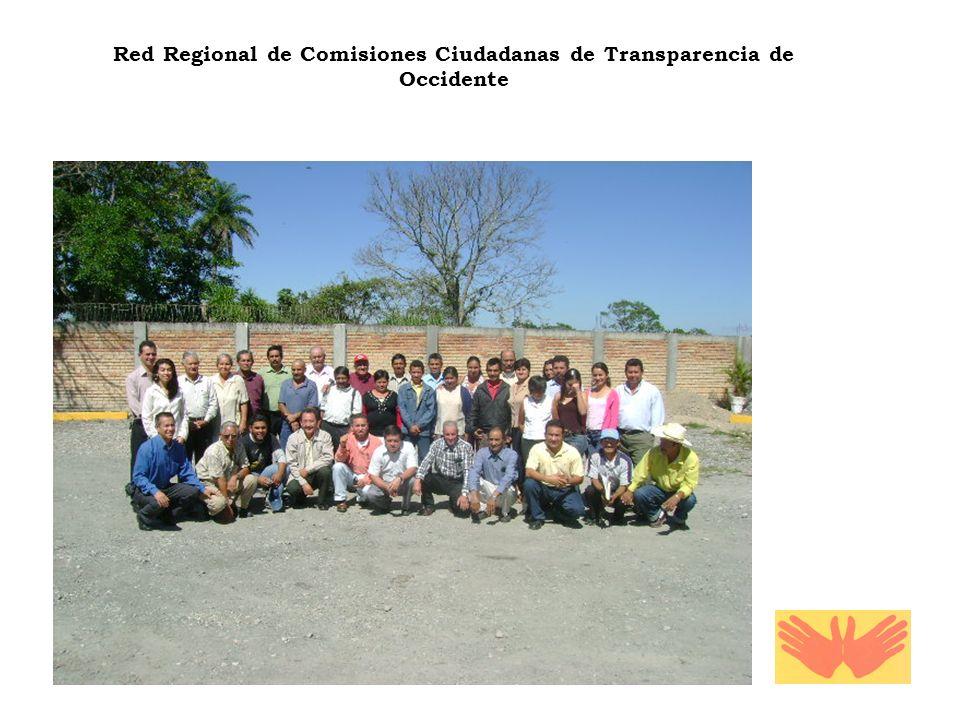 Red Regional de Comisiones Ciudadanas de Transparencia de Occidente