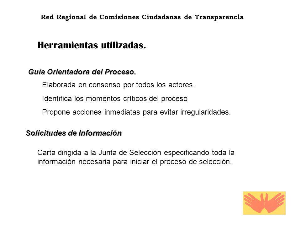 Red Regional de Comisiones Ciudadanas de Transparencia