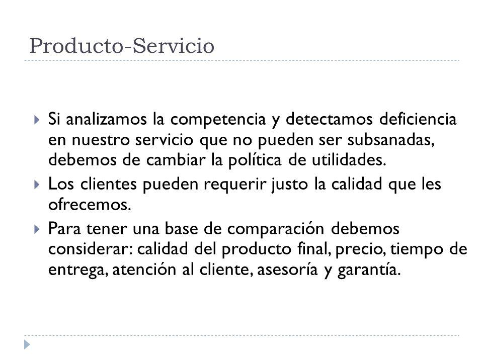 Producto-Servicio