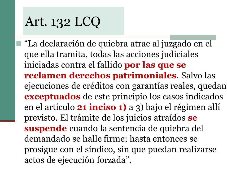 Art. 132 LCQ