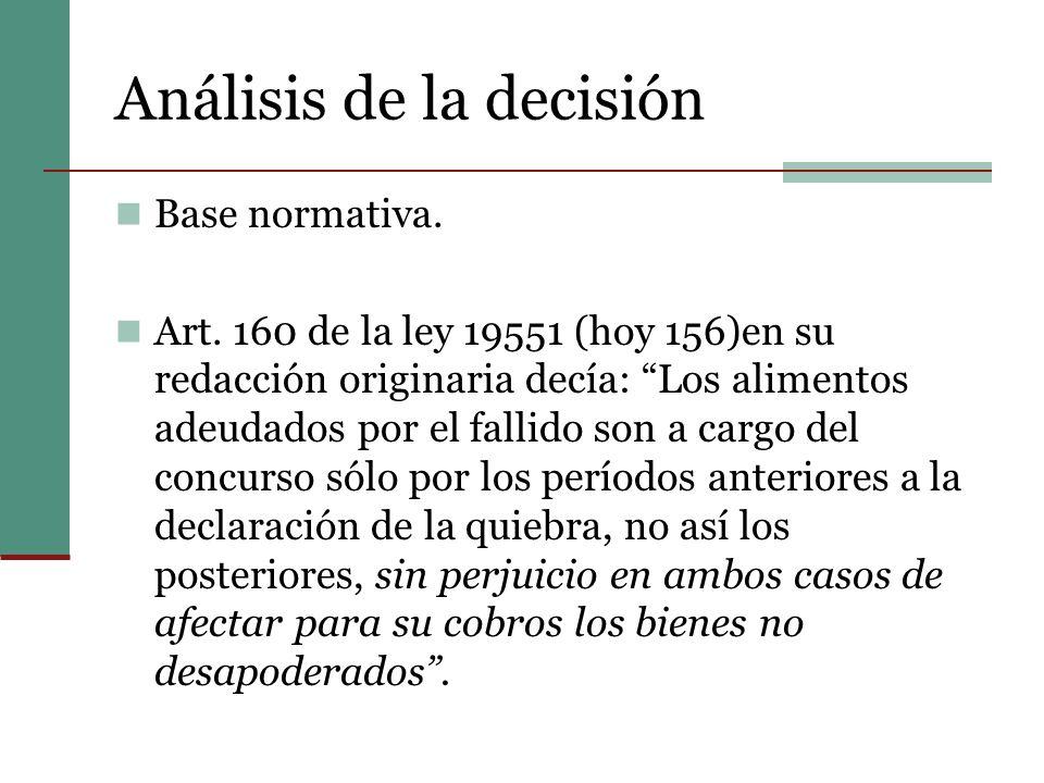 Análisis de la decisión