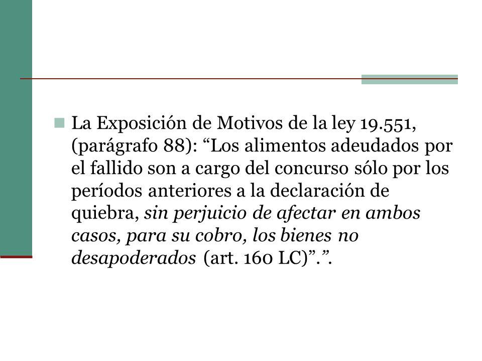 La Exposición de Motivos de la ley 19