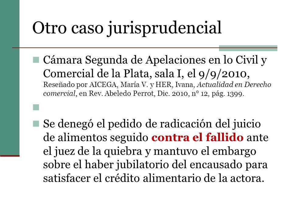 Otro caso jurisprudencial