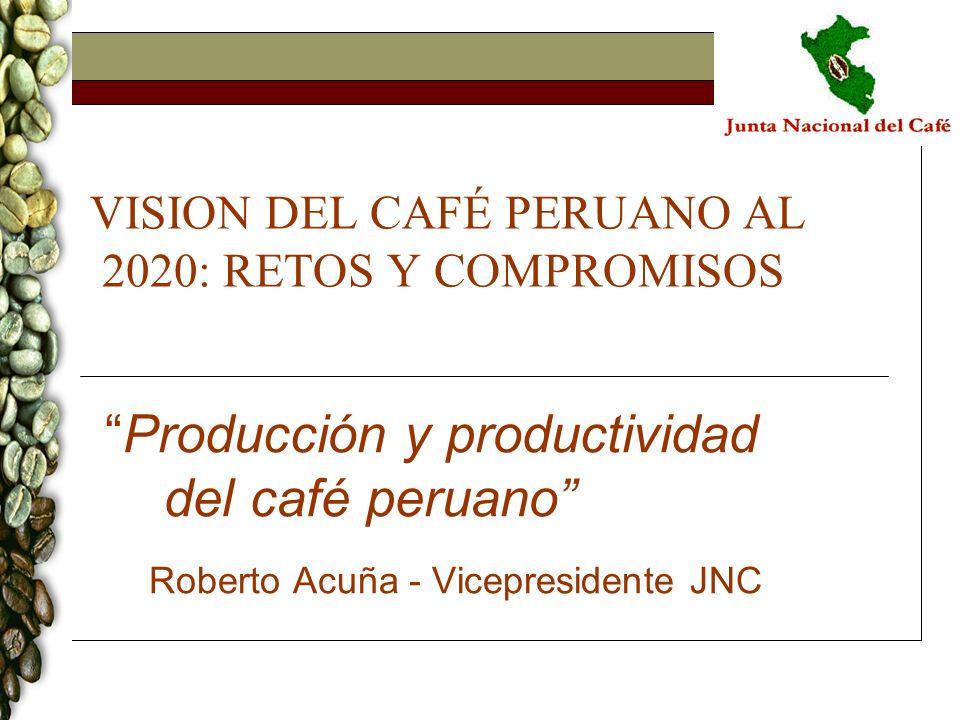 VISION DEL CAFÉ PERUANO AL 2020: RETOS Y COMPROMISOS
