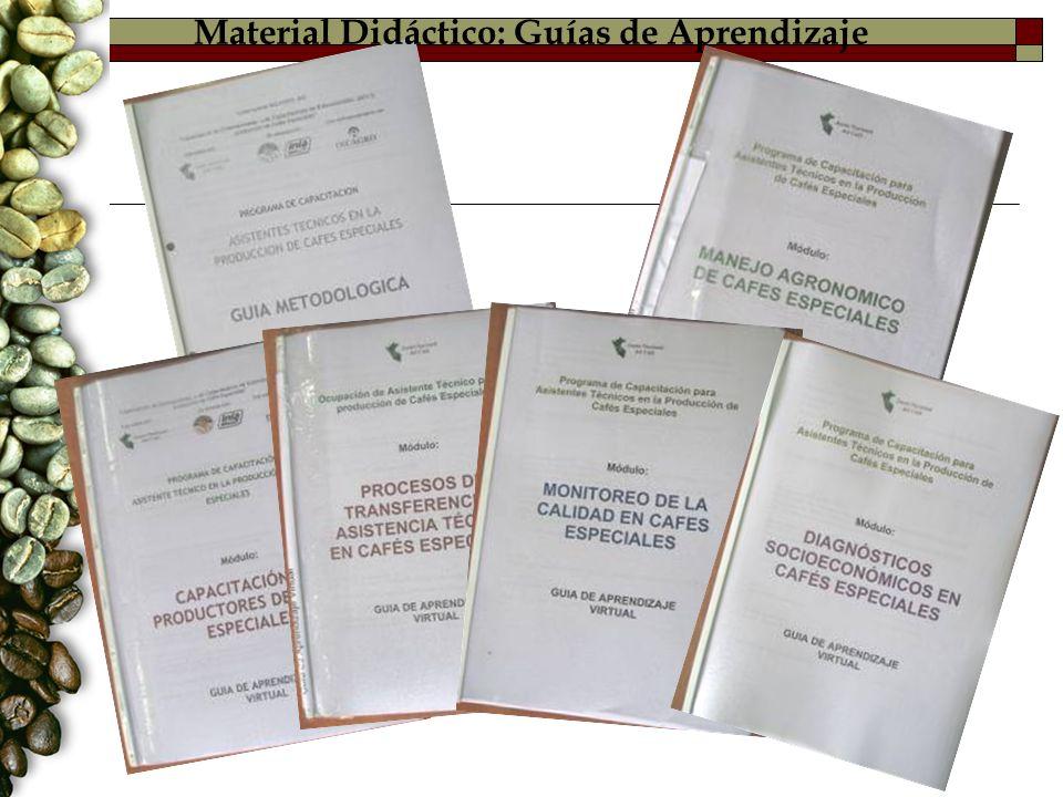 Material Didáctico: Guías de Aprendizaje