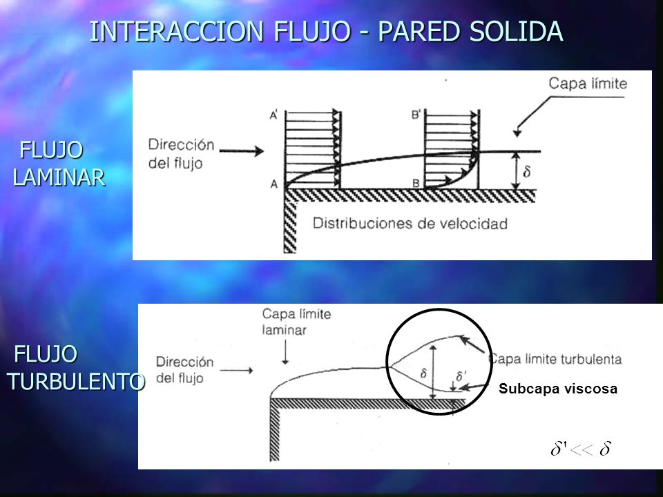 INTERACCION FLUJO - PARED SOLIDA