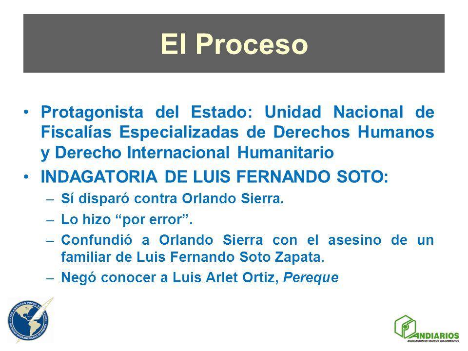 El Proceso Protagonista del Estado: Unidad Nacional de Fiscalías Especializadas de Derechos Humanos y Derecho Internacional Humanitario.