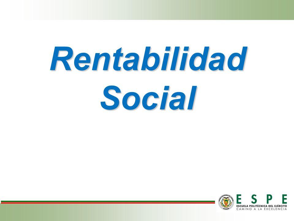 Rentabilidad Social