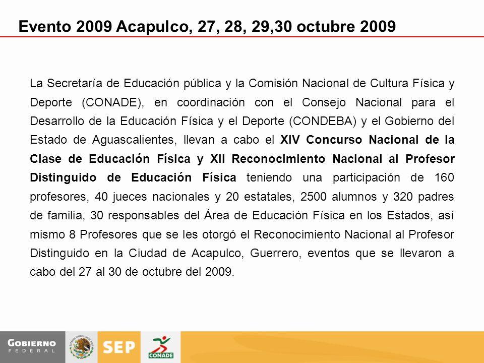 Evento 2009 Acapulco, 27, 28, 29,30 octubre 2009