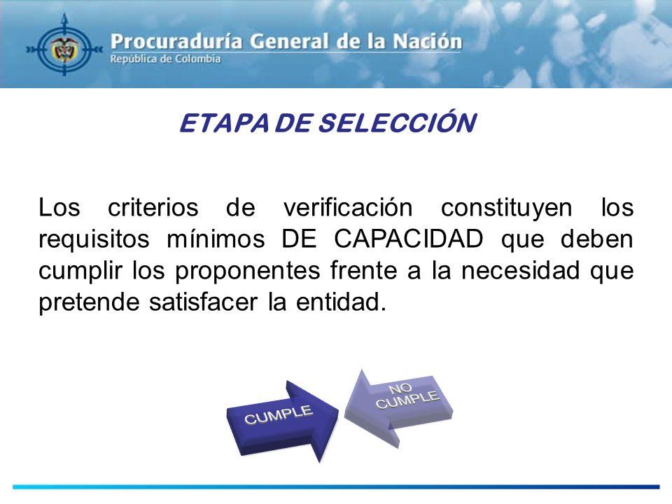 ESTUDIOS PREVIOS ETAPA DE SELECCIÓN