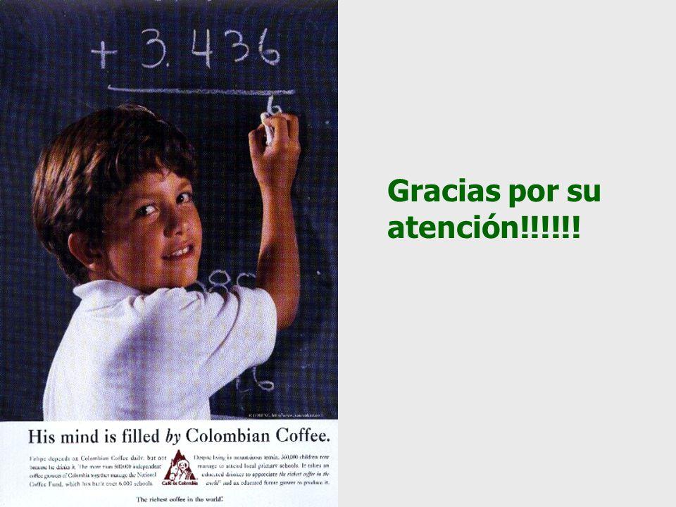Gracias por su atención!!!!!!