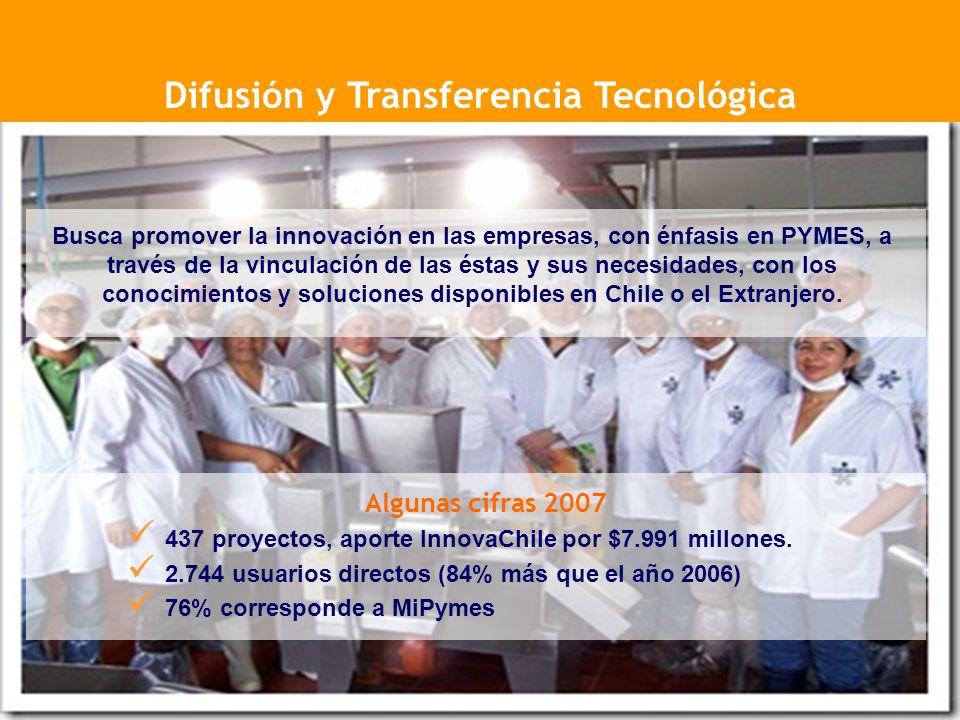 Difusión y Transferencia Tecnológica
