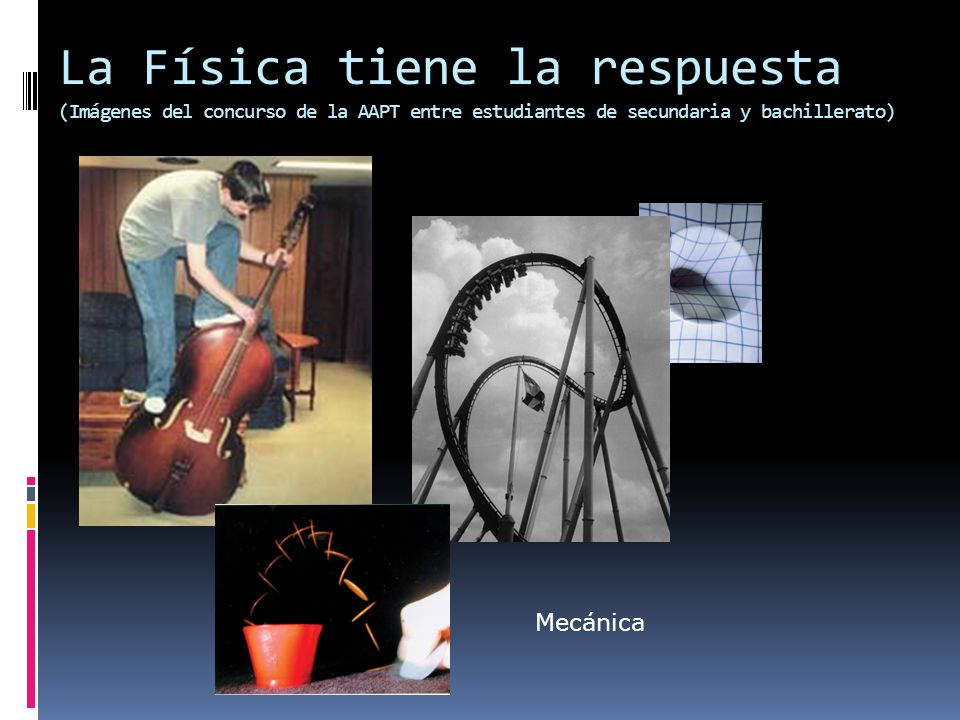 La Física tiene la respuesta (Imágenes del concurso de la AAPT entre estudiantes de secundaria y bachillerato)