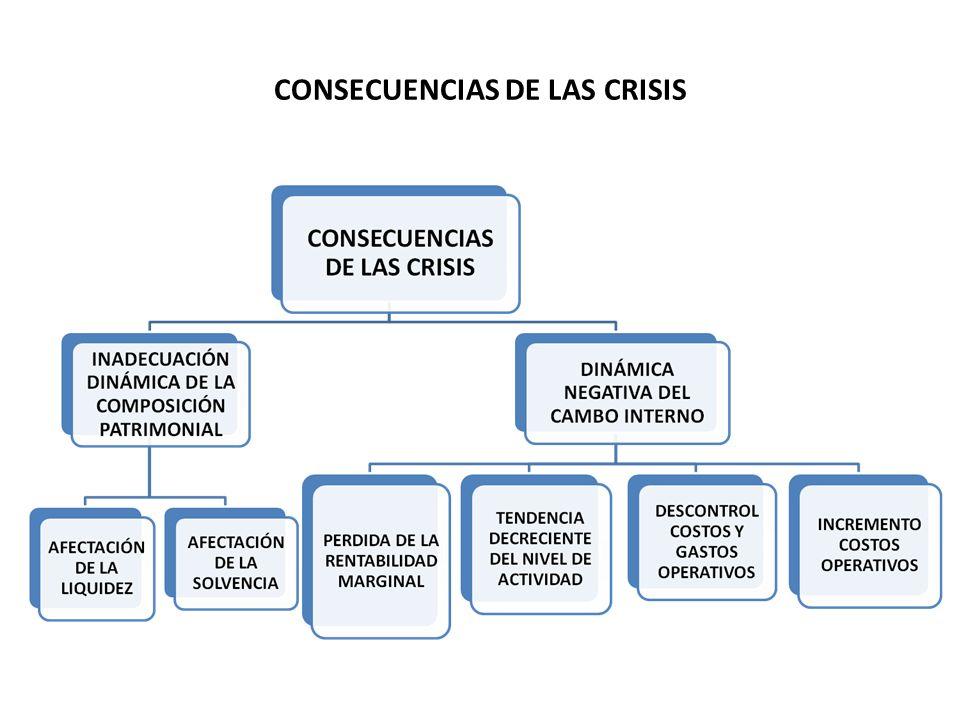 CONSECUENCIAS DE LAS CRISIS