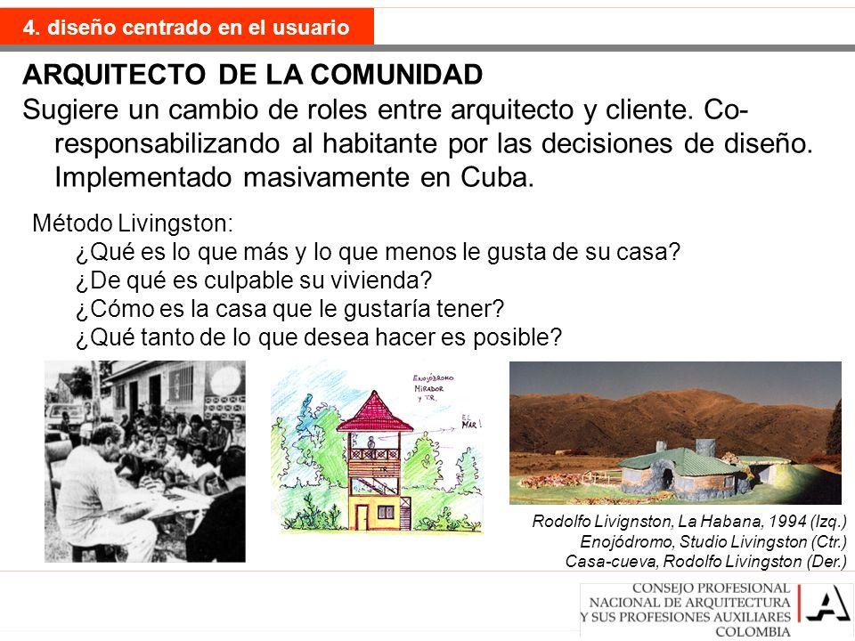 ARQUITECTO DE LA COMUNIDAD