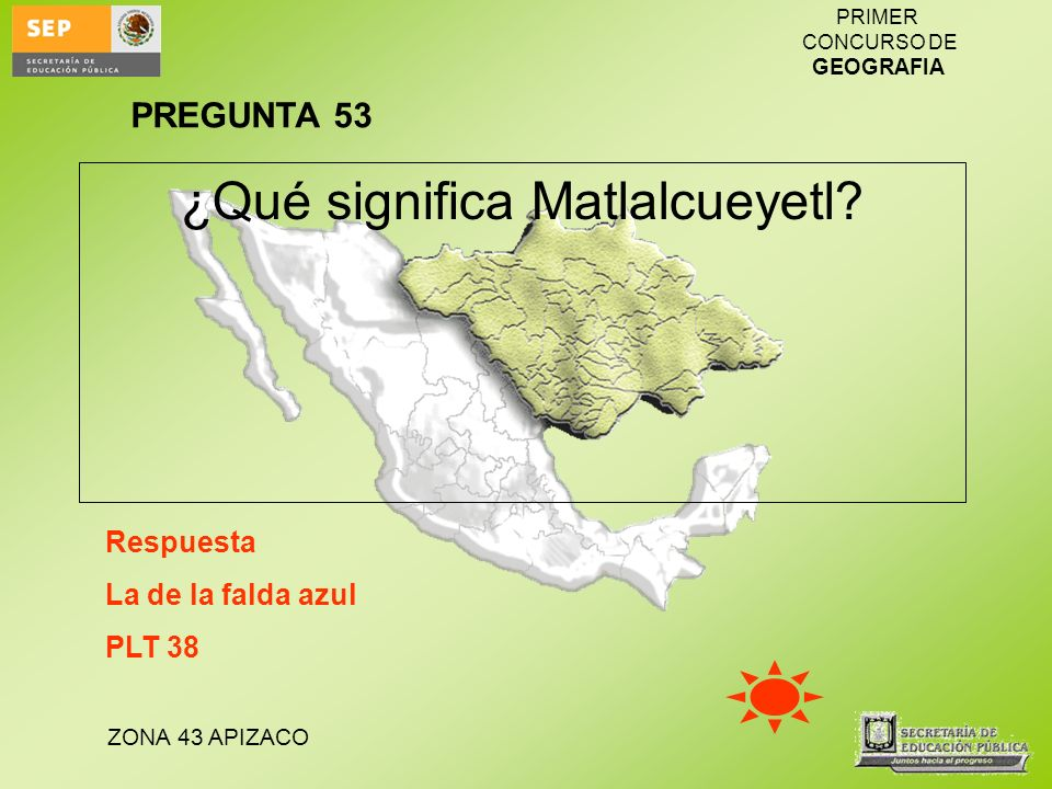 ¿Qué significa Matlalcueyetl