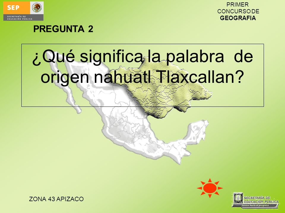 ¿Qué significa la palabra de origen nahuatl Tlaxcallan